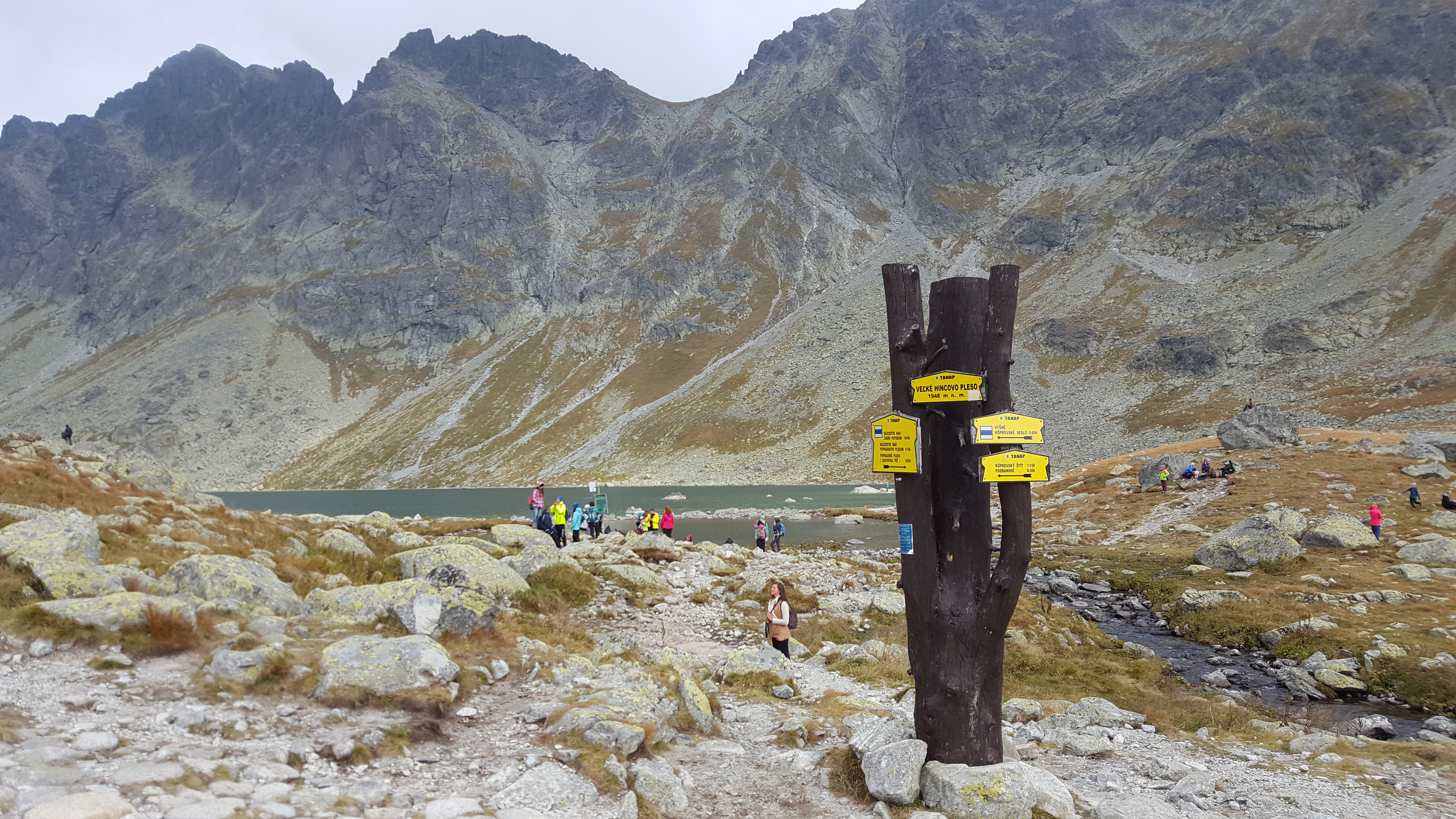 Tatra hiking trails in Slovakia - follow four colour marks not to get lost